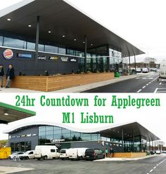 Countdown for Applegreen Southbound Belfast. Dublin, Lighting Design, Ireland, World, Building, Light Design, Buildings, Irish, The World