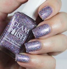 Glam Polish Which Witch? #glitter #bedlamnichole #holidaynails #nailart  - bellashoot.com