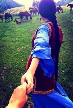 Follow me по-казахский