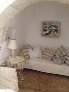 - Alcove with alternative textiles