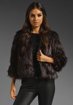 Anna Sui Long Haired Faux Fur Jacket in Merlot. Available At http://www.revolveclothing.com/DisplayProduct.jsp?product=ASUI-WO19=Anna+Sui
