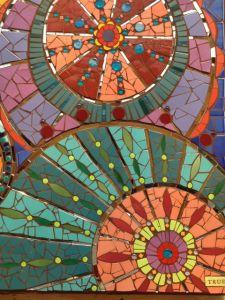 Posts about Mosaic Art Retreats written by Pamela Goode Paper Mosaic, Mosaic Wall Art, Mosaic Diy, Mosaic Garden, Mosaic Crafts, Mosaic Projects, Mosaic Glass, Art Projects, Glass Art