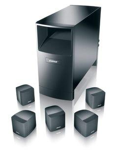 #amazon Bose Acoustimass 6 Home Entertainment Speaker System (Black) - $399 (save 43%) #bose #electronics #speakers