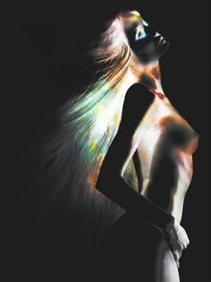 Negative: Photo negatives that are transformed into beautiful dark artworks | Creative Boom