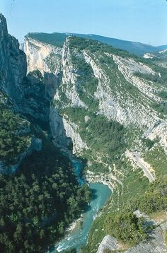 The Gorge near Aups, France