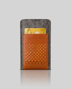 wool & leather case for iPhone 5 - OSTFØLD