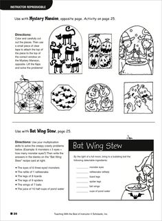 1000 images about halloween math activities on pinterest halloween math math centers and. Black Bedroom Furniture Sets. Home Design Ideas