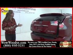 Vehicle Profile: Learn all about the Used 2008 Lexus RX400h Hybrid video walk around at WowWoodys - YouTube
