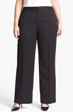 Anne Klein Trousers (Plus Size) available at #Nordstrom