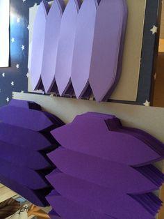 Behind the scenes at Seasalt's window design studio. Bluebells, February 2015.