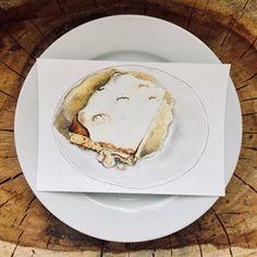 #lunchlala •mug cake with pudding•Long term food illustration project.💉 Hospital and school lunches 📚.#foodillustration #foodillustrator #foodart #foodie #foodgasm #cooking #cook #illustration #art #bratislava #slovakartist #artist #foodpainting #foodblog #foodblogger #lovefood #delicious #yummy #bratislavafood #food #hospitalfood #schoolfood #cake #pudding #uglyfood #jedlo #uzasnejedlo Food Illustrations, Illustration Art, Hospital Food, Food Painting, Pudding Cake, Personal Portfolio, Food Drawing, School Lunches, Bratislava