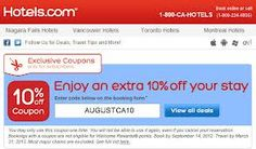 Hotels.com Coupon Code for 2014