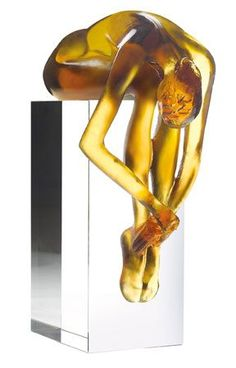 Daum Glass sculpture