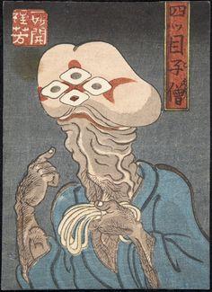 Untitled (Shunga Ghost Print) - Utagawa Kuniyoshi | FAMSF Explore the Art