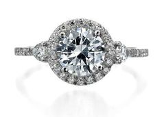 Mark Patterson 3 Stone Engagement Ring, one of my favorite.