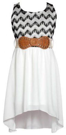 Wonder Girl Just Kids Lace & Lurex Hi-Low Dress. This charming one piece hi-low dress is perfect for a day out in the sun! The top features a chevron pattern and bonded lace fabric with strands of gold lurex sewn in. http://www.amazon.com/gp/product/B00HX4GUZ0/ref=as_li_qf_br_asin_il_tl?ie=UTF8&camp=1789&creative=9325&creativeASIN=B00HX4GUZ0&linkCode=as2&tag=smarthealthpr09f09-20
