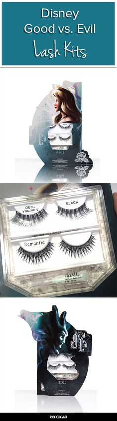 Disney Princess Lovers Should Own These Faux Lashes from Ardell! Check out the Good vs. Evil Kits