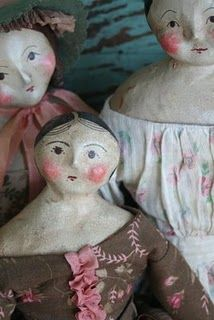 there's something about primitive dolls