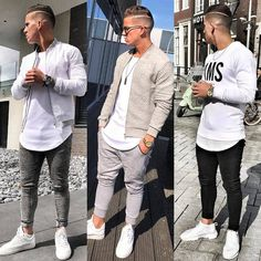 "6,765 Me gusta, 39 comentarios - StreetStyle Gents™ (@streetstylegents) en Instagram: ""1, 2 or 3? Style by: @donomar_11 Whatcha say or ? Leave a comment DM for Shoutouts…"""