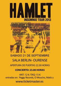 Hamlet @ Sala Berlin - Ourense musica concerto concierto