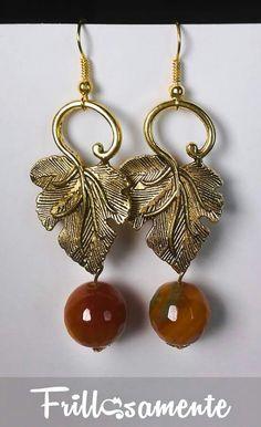 #frillosamente Earrings gold