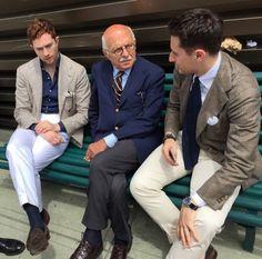 treviorum: Jake Grantham, Antonio Panico and Alex Pirounis.