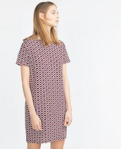 Imagem 1 de VESTIDO JACQUARD da Zara