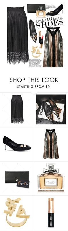 """""""Untitled #2769"""" by beebeely-look ❤ liked on Polyvore featuring Barbara Bui, Christian Dior, Yves Saint Laurent and Bobbi Brown Cosmetics"""