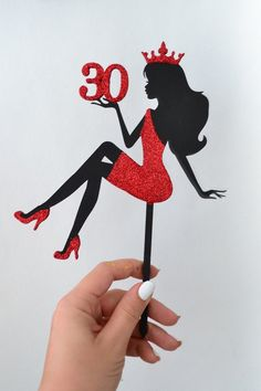 Personalized Birthday Cake Topper Sitting Silhouette Woman with Custom Age Queen for bridal party Purple Wedding Cakes, Wedding Cakes With Flowers, Flower Cakes, Gold Wedding, 40th Birthday Decorations, Graduation Decorations, Graduation Centerpiece, 30th Birthday, Birthday Ideas