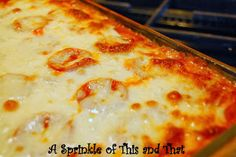 A Sprinkle of This and That: Spaghizza