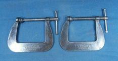 2 Cincinnati Tool Co C Clamps No 56-P Super Jr. | eBay Old Tools, Super Junior, Cincinnati, Jr, Ebay, Vintage Tools