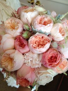 A wash of pink and cream #romantic