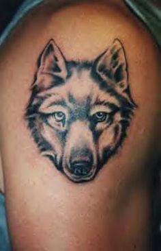 925aa1aaf Wolf Face Tattoo, Lone Wolf Tattoo, Wolf Tattoos Men, Small Wolf Tattoo,