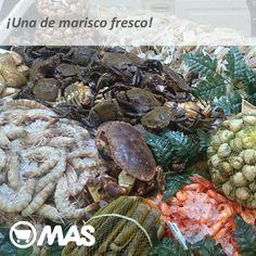 Marisco fresco y recién llegado a nuestras pescaderías! Para que disfrutes del finde con el mejor sabor a mar