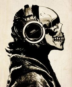 Skull Headphones
