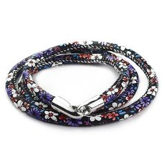 2.06$  Buy here - http://digam.justgood.pw/go.php?t=183740901 - Tiny Floral Print Multilayer Wrap Bracelet 2.06$