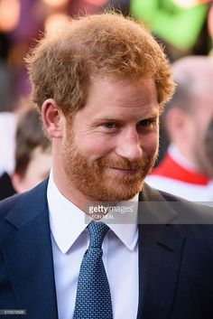 Britain's Prince Harry is pictured as he leaves Westminster Abbey in central London, after attending a Commonwealth Service on March 14, 2016.Queen Elizabeth II has been Head of the Commonwealth throughout her 60 year reign. Organised by the Royal Commonwealth Society, the Service is the largest annual inter-faith gathering in the United Kingdom. / AFP / LEON NEAL        (Photo credit should read LEON NEAL/AFP/Getty Images)