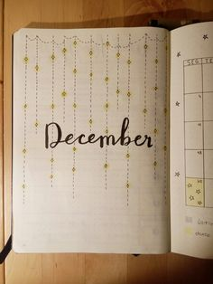 December bullet journal #stars #lights #bulletjournal #leuchtturm1917 #december Follow me for more!! @constancagprimo