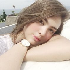 Filipina Beauty, Everyday Makeup, About Hair, Daniel Wellington, Girl Crushes, Fangirl, Hair Color, It Cast, Celebrities