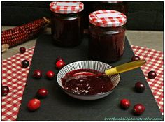 Cranberry-Kompott brotbackliebeundmehr Foodblog