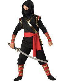 Disguise gi joe retaliation snake eyes light up deluxe muscle ninja boys costume 4 solutioingenieria Images