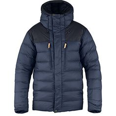 Technical, well-insulated down jacket packed with practical features for reliable functionality during winter activities. Insulated baffles keep warmth in and suspenders let you keep the jacket ''on'' without using the sleeves to make sure it doesn't blow away in windy...  More details at https://jackets-lovers.bestselleroutlets.com/mens-jackets-coats/active-performance/shells/product-review-for-fjallraven-mens-keb-expedition-down-jacket-storm-night
