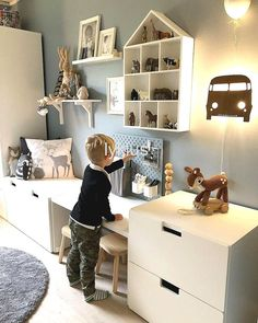 30 best playroom ideas for small and large rooms # changing room . - Umkleidekabine - 30 best playroom ideas for small and large rooms room - Ikea Kids Room, Kids Bedroom, Ikea For Kids, Ikea Childrens Bedroom, Toddler Rooms, Baby Boy Rooms, Ikea Stuva, Ikea Ikea, Ikea Malm