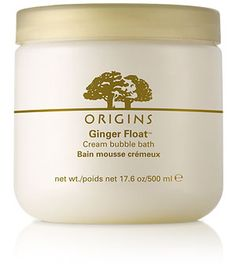 Origins Ginger Float Creme Bubble Bath - check out the blogpost and see my favourite movie bathtub scenes