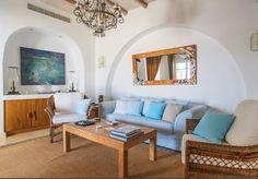 Villa Astir/ Antiparos Greece / www. Interiores Design, Villa, Couch, Furniture, Home Decor, Settee, Sofa, Couches, Interior Design