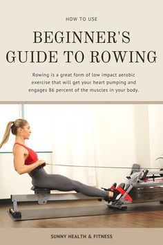 Rowing is a great form of low impact aerobic exercise that will get your heart pumping and engages 86 percent of the muscles in your body. That's right, rowing is a total body experience - tone your legs, core, arms, and more all while on the rowing machine. Your first time stepping onto a rower can be intimidating, but with a few tricks up your sleeves, you'll be well on your way to perfecting your rowing form and acing your workouts. #sunnyhealthfitness #rowing #rowingworkout