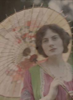 John Cimon Warburg (1867-1931) 'The Japanese Parasol' c. 1906