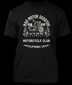 MONTROSE inspiriert Sammy Hagar BAD MOTOR SCOOTER T-shirt
