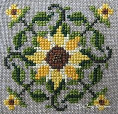 Stitching Dreams: For the Love of Sunflowers