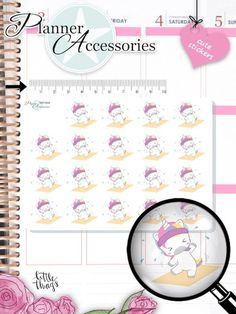 Unicorn Workout Planner Stickers 1864 by EmelysPlannerShop Unicorn Stickers, Kawaii Stickers, Cute Stickers, Cute Planner, Happy Planner, New Sticker, Sticker Paper, Fitness Planner, Workout Planner